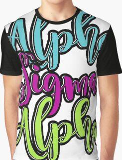 Alpha Sigma Alpha Graphic T-Shirt