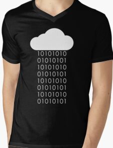 Programmer Rain Mens V-Neck T-Shirt
