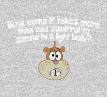 Squirrel Jokes - Spongebob One Piece - Long Sleeve