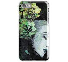 Obey Me - girl with flowers iPhone Case/Skin