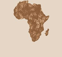 AFRICA (simple map) distressed version with Madagascar Unisex T-Shirt
