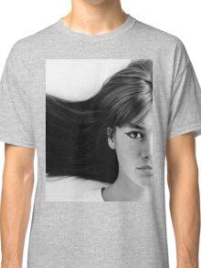 Françoise (Francoise) Hardy - History's Most Fashionable Hair Classic T-Shirt