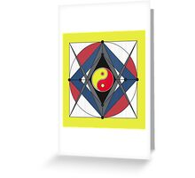The Zen Masters Compass 53 Greeting Card