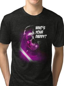 WHO IS HE ? Tri-blend T-Shirt