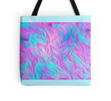 Digital Pastel Oil Painting Tote Bag