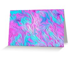 Digital Pastel Oil Painting Greeting Card