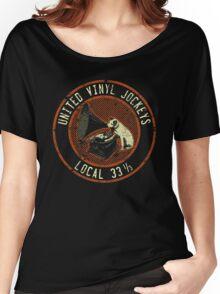 United Vinyl Jockeys Women's Relaxed Fit T-Shirt