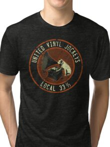United Vinyl Jockeys Tri-blend T-Shirt