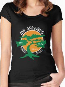 Mister Miyagi's Store Women's Fitted Scoop T-Shirt