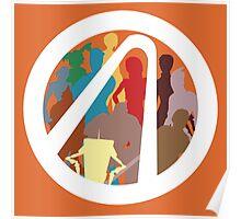 Borderlands Character Design Poster