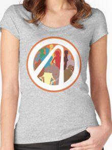 Borderlands Character Design Women's Fitted Scoop T-Shirt