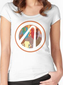 Borderlands Character Design Women's Fitted Scoop T-Shirt
