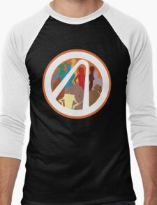 Borderlands Character Design Men's Baseball ¾ T-Shirt