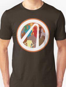Borderlands Character Design Unisex T-Shirt