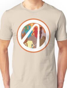 Borderlands Character Design Unisex T-Shirt