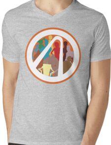 Borderlands Character Design Mens V-Neck T-Shirt