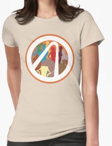 Borderlands Character Design Womens T-Shirt
