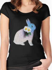 Bunny Rabbit Women's Fitted Scoop T-Shirt