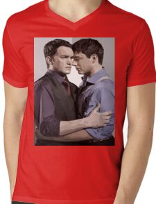 Ianto and Jack Mens V-Neck T-Shirt