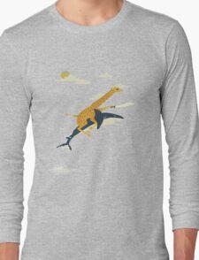 Giraffe riding shark T-Shirt