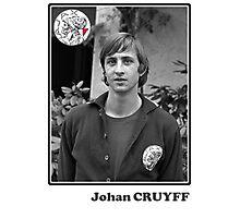 Johan Cruyff - Legend Football Photographic Print