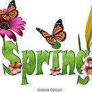 Spring text (4038 views) by aldona