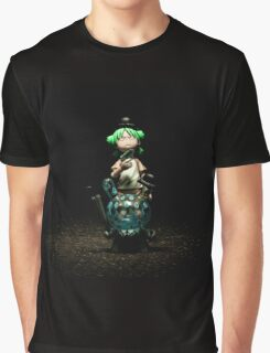 Yotsuba & The Godfather Graphic T-Shirt