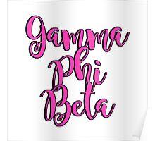 Gamma Phi Beta Poster