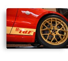 Rally Package Canvas Print