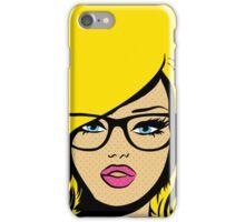 Pop Art Girl iPhone Case/Skin