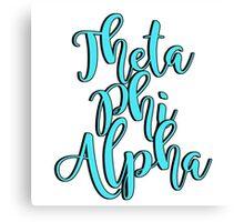 Theta Phi Alpha Canvas Print