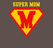 Super Mom Mother's Day Womens Fitted T-Shirt