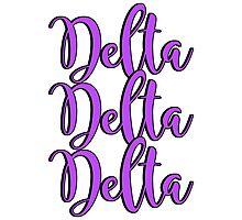 Delta Delta Delta Photographic Print