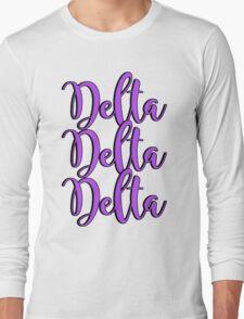Delta Delta Delta Long Sleeve T-Shirt