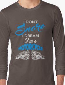 Snoring Man Long Sleeve T-Shirt