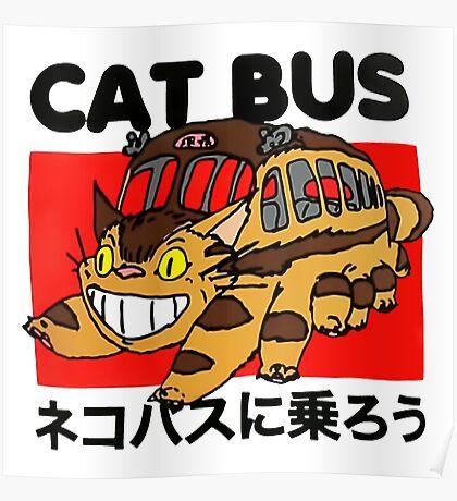 Cat Bus Poster