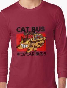 Cat Bus Long Sleeve T-Shirt