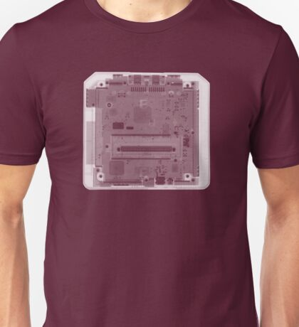 Sega Genesis Game Console - X-Ray Unisex T-Shirt