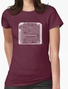 Sega Genesis Game Console - X-Ray Womens Fitted T-Shirt