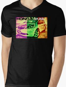HONDA jazz Mens V-Neck T-Shirt