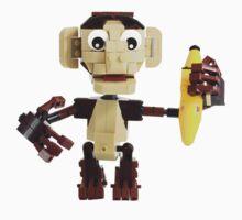 LEGO Monkey with Banana One Piece - Short Sleeve