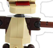 LEGO Monkey with Banana Sticker