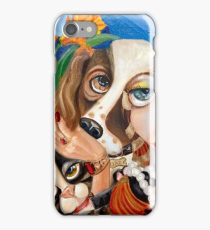 The Family Portrait and the Single Girl: AKA who needs a man? iPhone Case/Skin