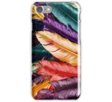 Colorfull Feather Pattern iPhone Case/Skin
