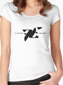 Fitness Empire Women's Fitted Scoop T-Shirt