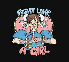 Fight Like A Girl - Chun Li (Street Fighter) Unisex T-Shirt