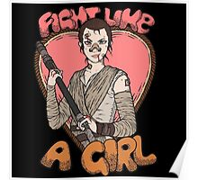 Fight Like A Scavenger (Fight Like A Girl) Poster