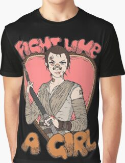Fight Like A Scavenger (Fight Like A Girl) Graphic T-Shirt