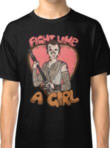 Fight Like A Scavenger (Fight Like A Girl) Classic T-Shirt