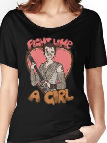 Fight Like A Scavenger (Fight Like A Girl) Women's Relaxed Fit T-Shirt